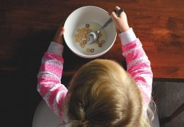 Giving your child the best possible nutrition.